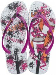 Ipanema Unique III női papucs-pink/fehér/mintás