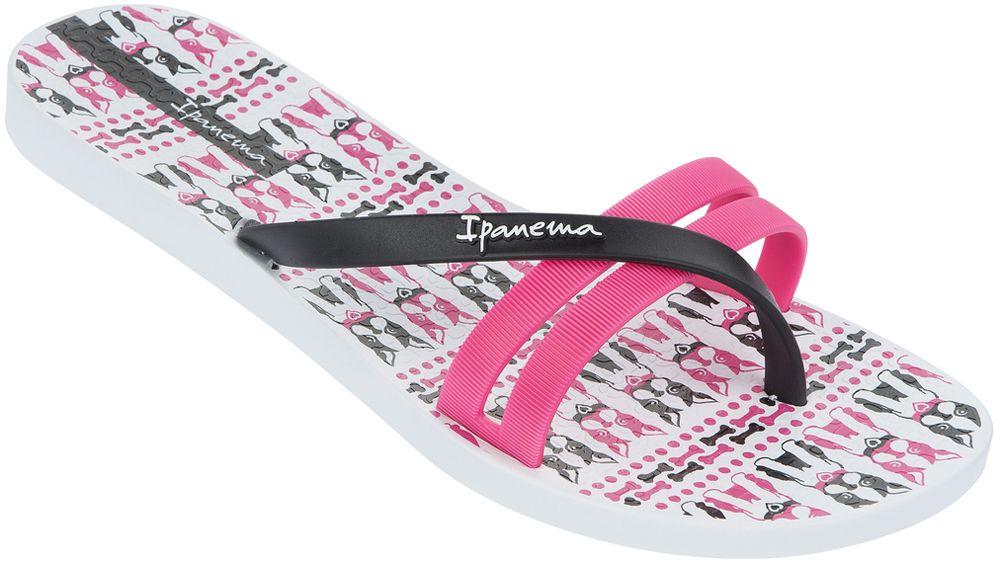 Ipanema Flip Print női papucs (fehér pink fekete) - COOL JUMP 1d115f7987