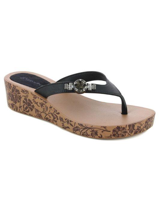 Grendha Acai Plat II női papucs (barna/fekete)