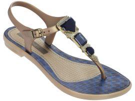 Grendha Jewel Sandal női szandál (bézs/kék)