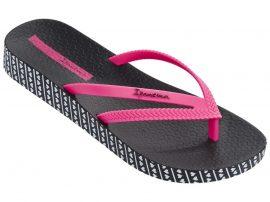 Ipanema Bossa Soft női papucs (fekete/pink)