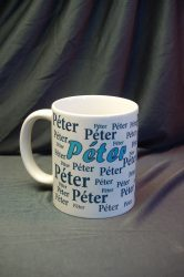 Péter bögre